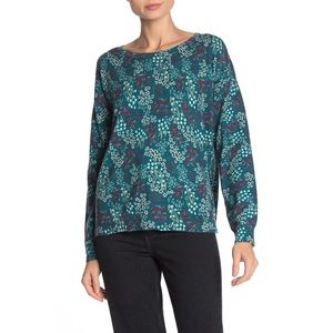 NWT Size S Joie Eloisa Floral Pullover Sweater